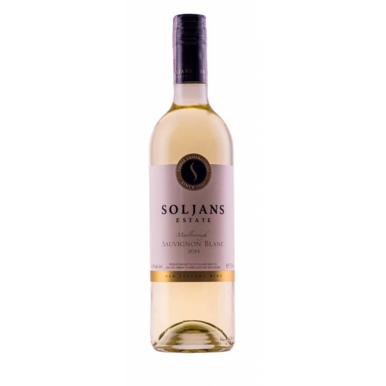 Sauvignon Blanc, 2018, Marlborough, Soljans Estate