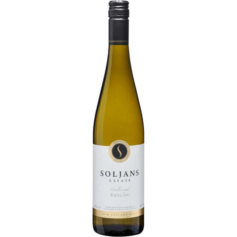 Riesling, Marlborough, 2015, Soljans Estate