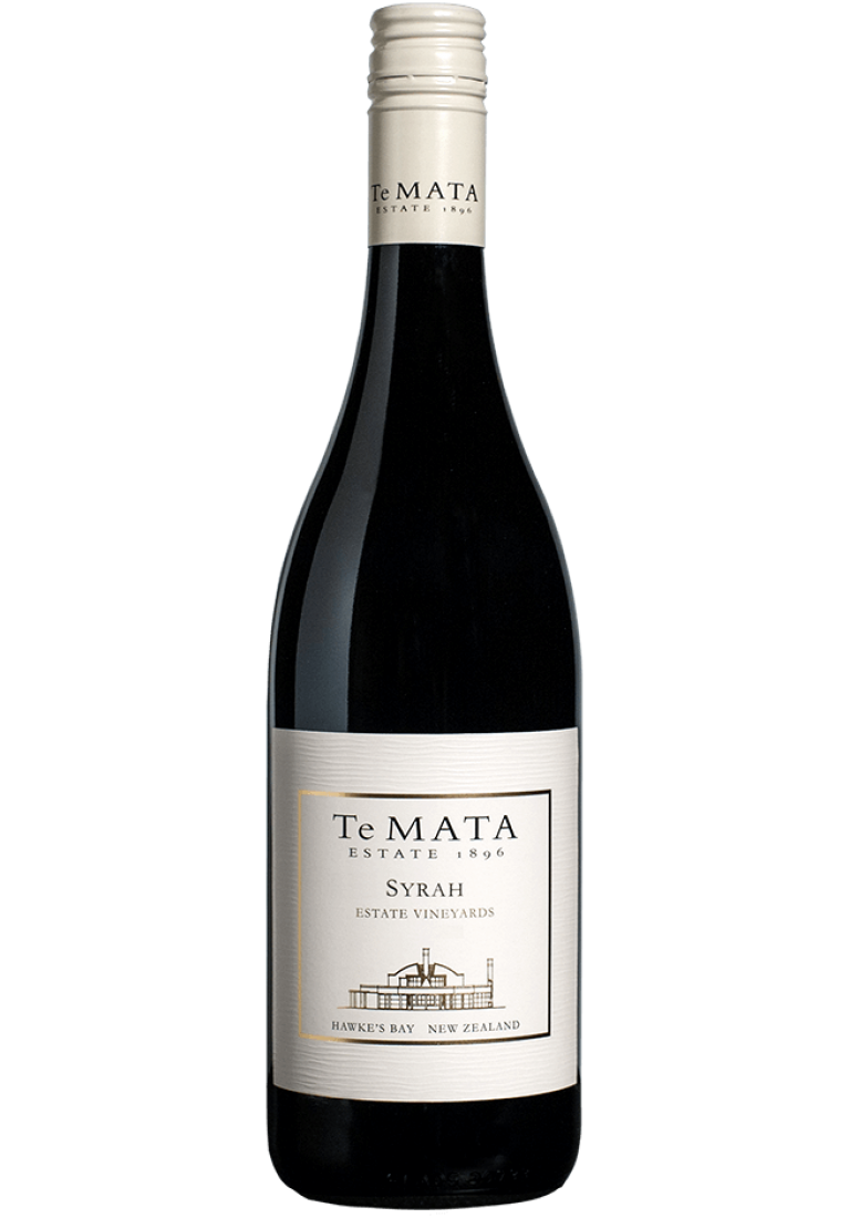 Syrah, Estate Vineyards, 2015, Hawke s Bay, Te Mata Estate - wine-express.pl