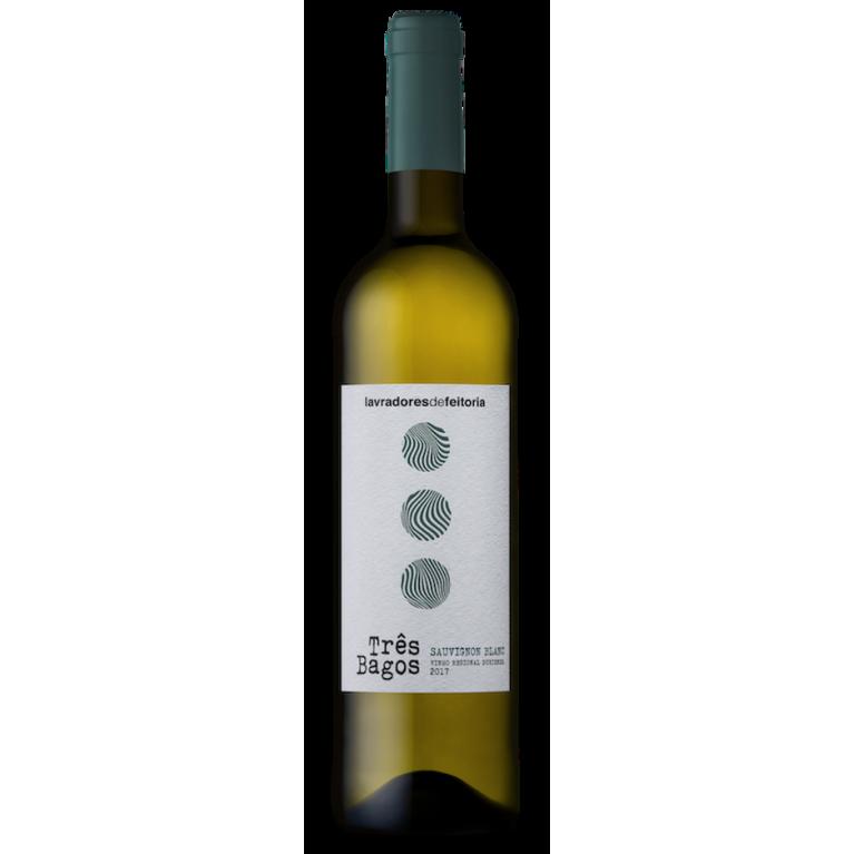 Tres Bagos Sauvignon Blanc, 2017, DOC Douro, Lavradores de Feitoria