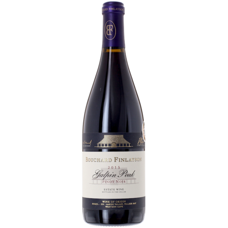 Pinot Noir, Galpin Peak, 2016, Walker Bay, Bouchard Finlayson