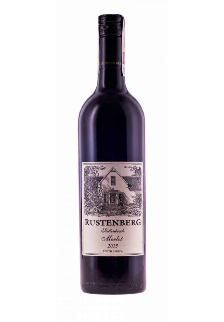 Merlot, 2018, Stellenbosch, Rustenberg - wine-express.pl