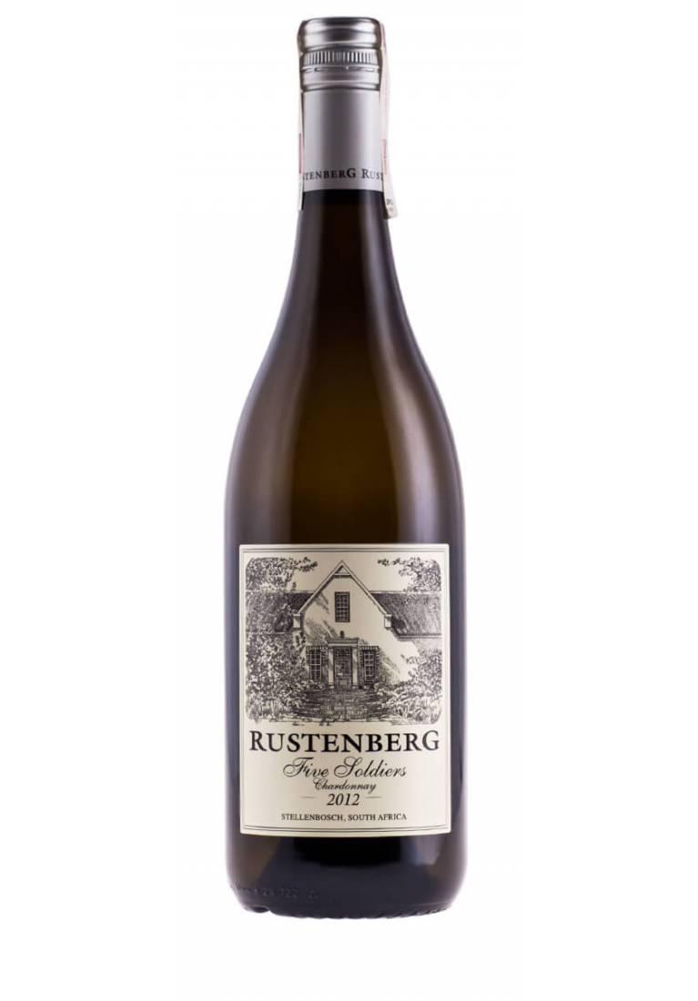 Chardonnay, Five Soldiers, Stellenbosch, 2015/2017, Rustenberg - wine-express.pl