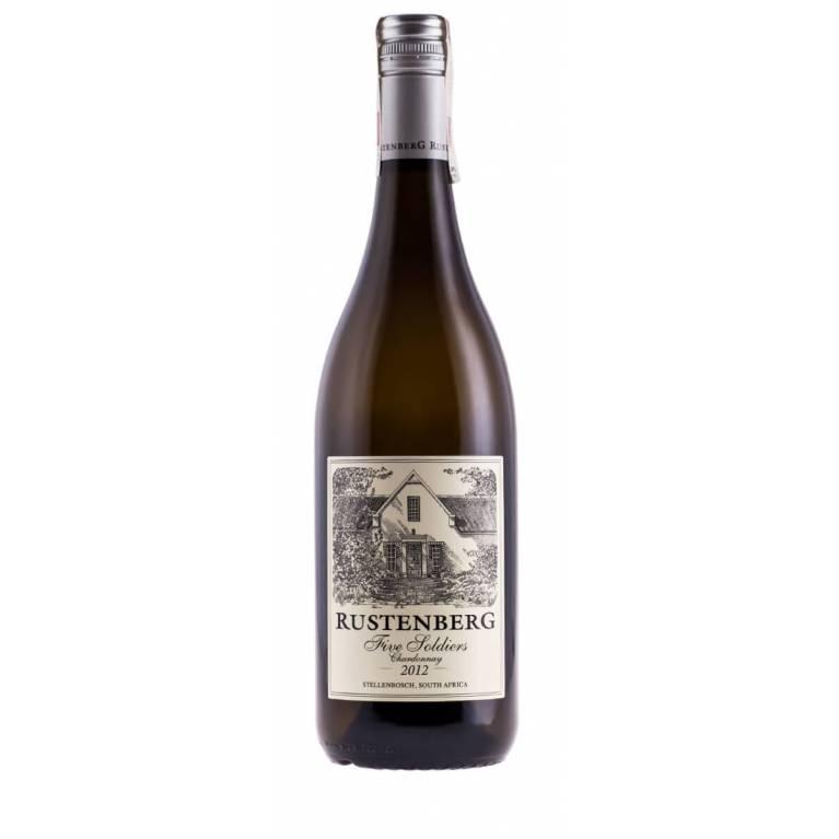 Chardonnay, Five Soldiers, 2013, Stellenbosch, Rustenberg