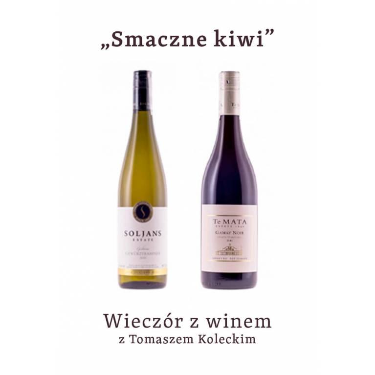 """Wieczór z winem : """"Smaczne kiwi"""" - 26.11.2020"""