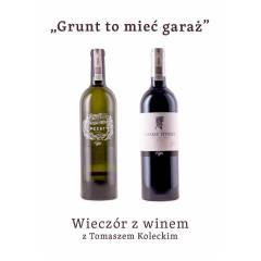 """Wieczór z winem : """"Grunt to mieć garaż"""" - 1.12.2020"""