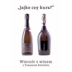 """Wieczór z winem : """"Jajko czy kura?"""" - 3.12.2020"""