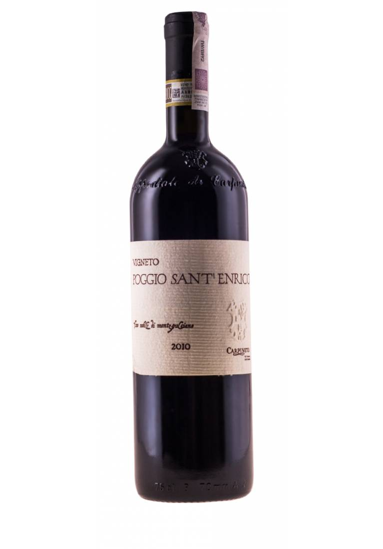 Poggio Sant'Enrico, Vino Nobile di Montepulciano, DOCG, 2010, Toscano, Carpineto