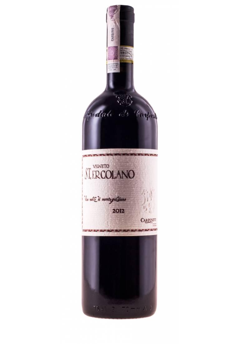 Vigneto St. Ercolano, Vino Nobile di Montepulciano, DOCG, 2012, Toscano Carpineto