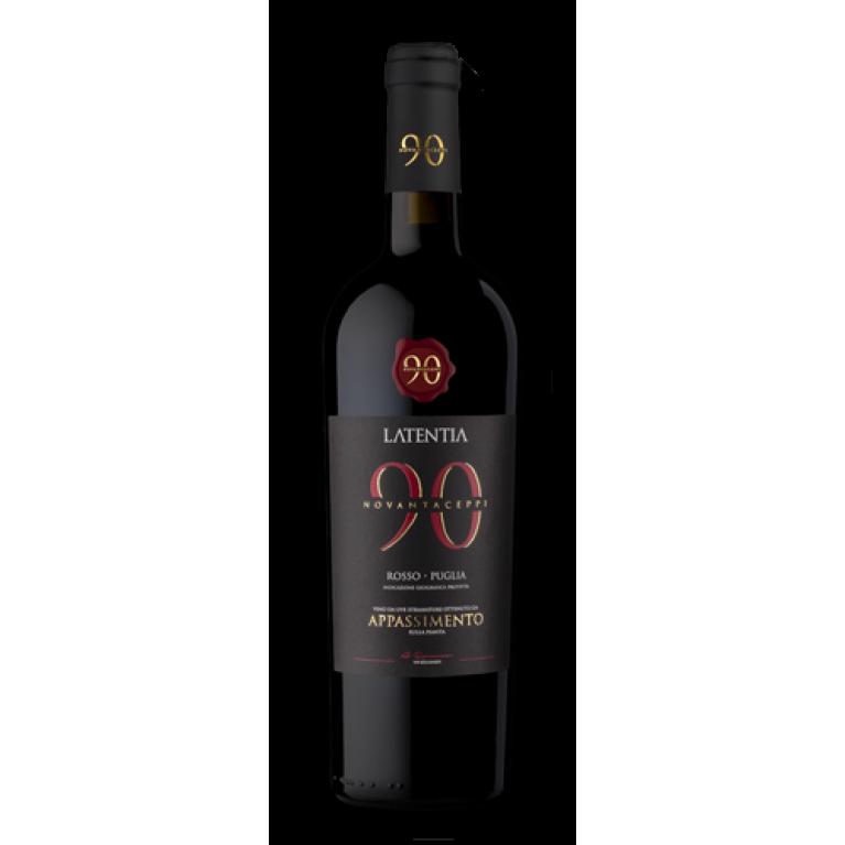 Novantaceppi, Appassimento Rosso, 2016, Puglia, Latentia Winery