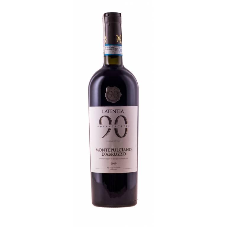 Novantaceppi, Montepulciano d'Abruzzo, D.O.C., 2019, Latentia Winery