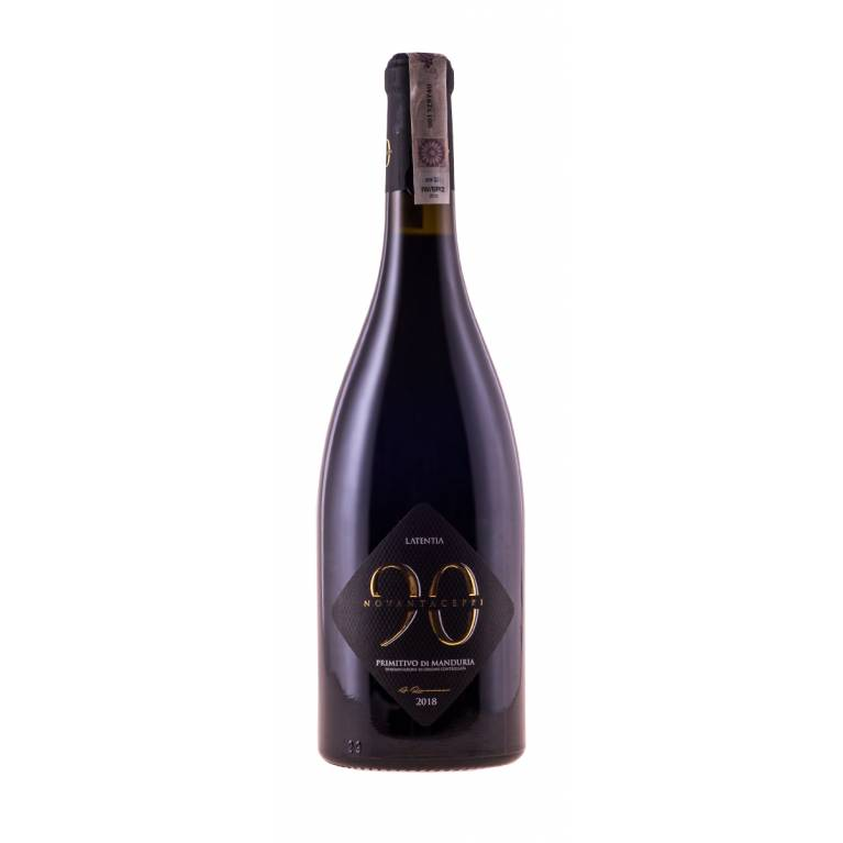 Novantaceppi, Primitivo di Manduria, D.O.C., 2018, Puglia, Latentia Winery