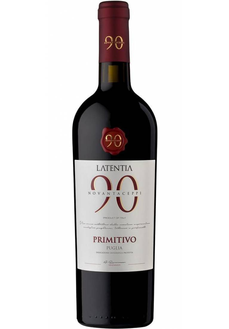 Novantaceppi Primitivo, 2018, Puglia, Latentia Winery