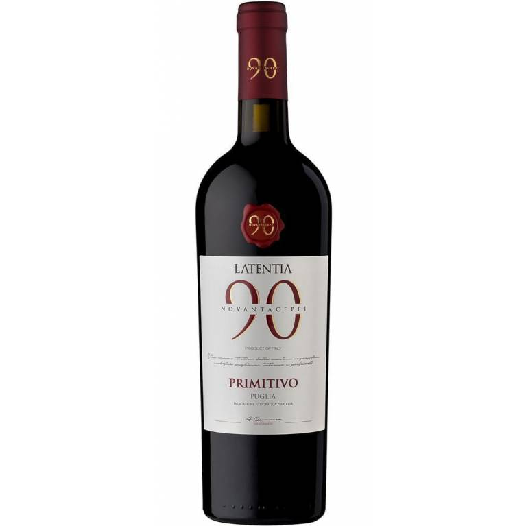 Novantaceppi, Primitivo, IGP, 2018, Puglia, Latentia Winery