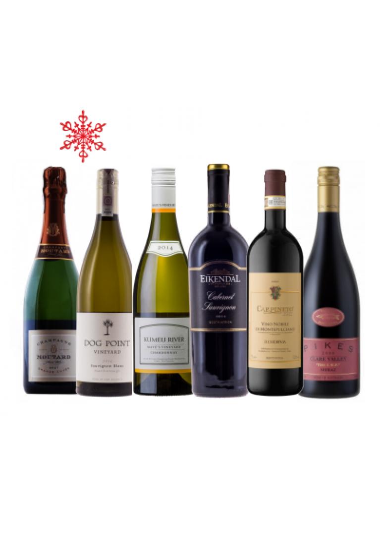 Zestaw świąteczny De Luxe - 12 butelek
