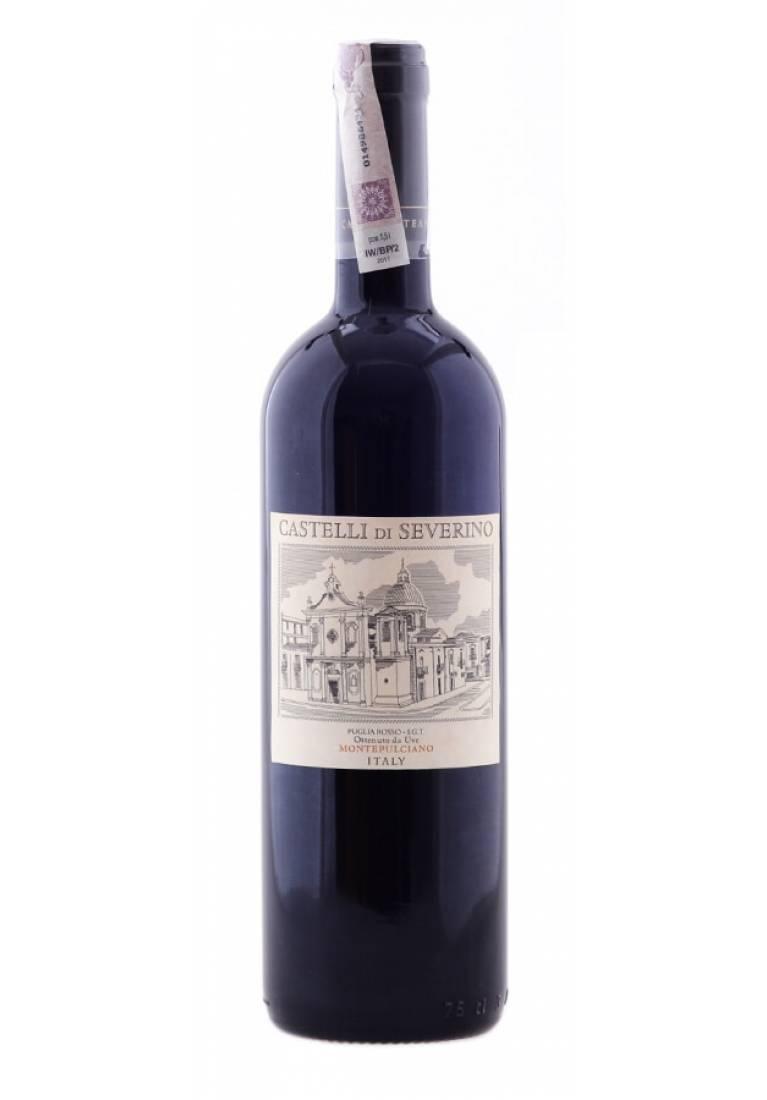 Case of Castelli di Severino (6 Bombino / 6 Montepulciano) +FREE DELIVERY - wine-express.pl