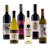 Mixed case of 3 white & 3 red from around the world + FREE DELIVERY